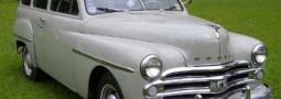 Dogde Kingsway Sw 1950 Placa Preta (VENDIDO)